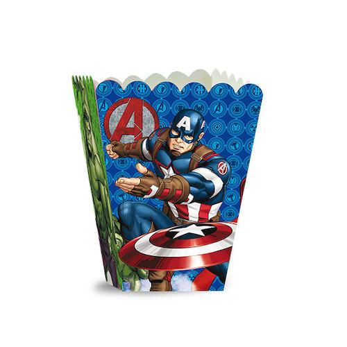 Caja De Popcorn Avengers 6/1