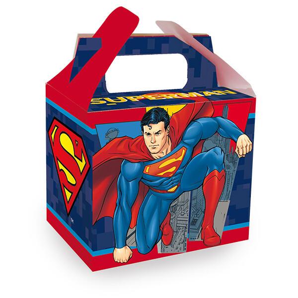 Caja Para Dulce Superman 6/1