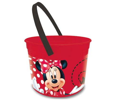 Cubo (Cubeta) Plastico Minnie 1/1