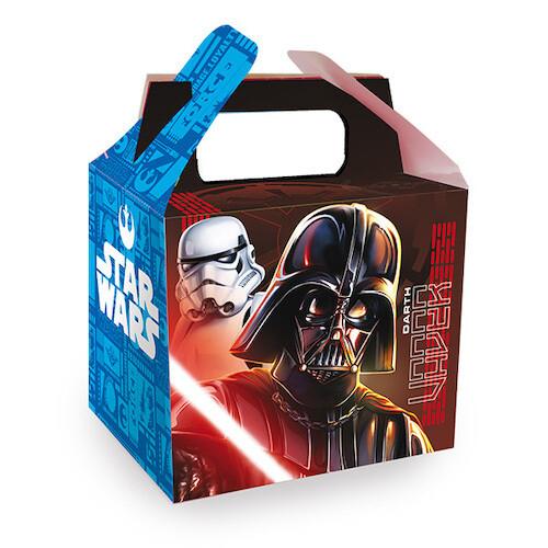 Caja Para Dulces Star Wars 6/1