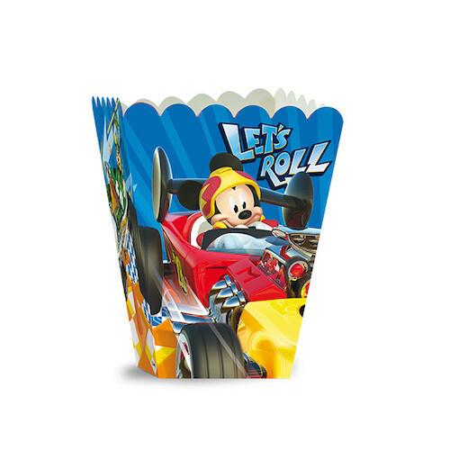 Caja Popcorn Mickey Aventura Sobre Rueda 6/1