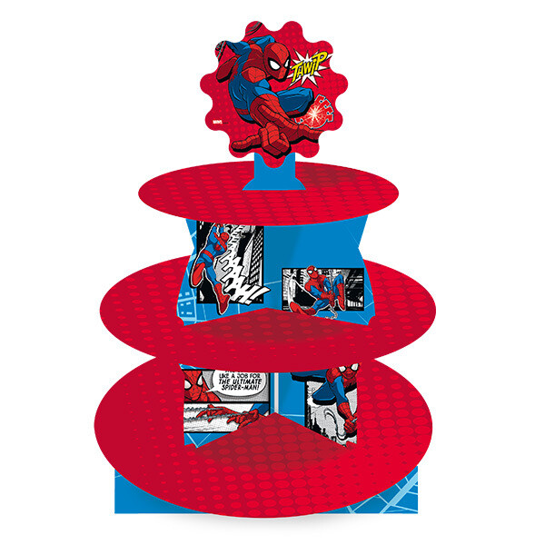 Cup Cake Stand Spiderman