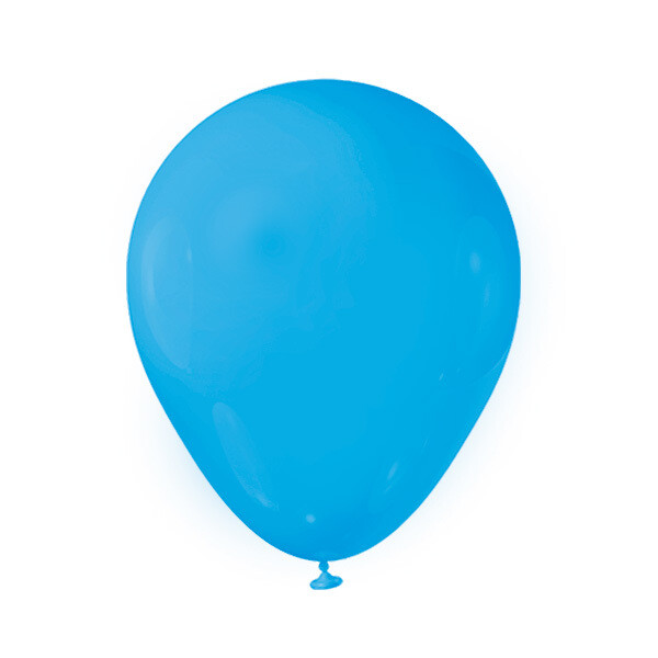 Globos Latex #12 Azul Celeste 50/1