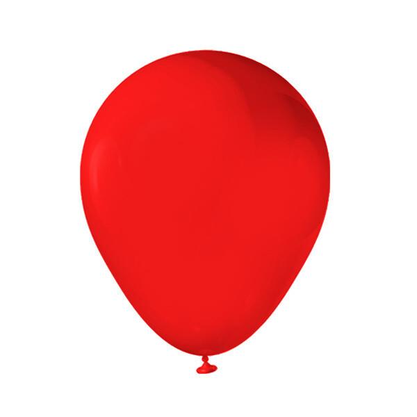 Globos Latex #12 Rojo 50/1