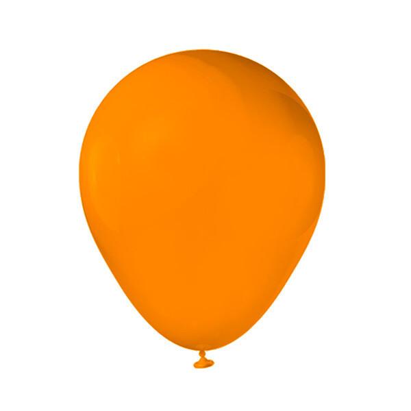 Globos Latex #12 Naranja (Mamey) 50/1
