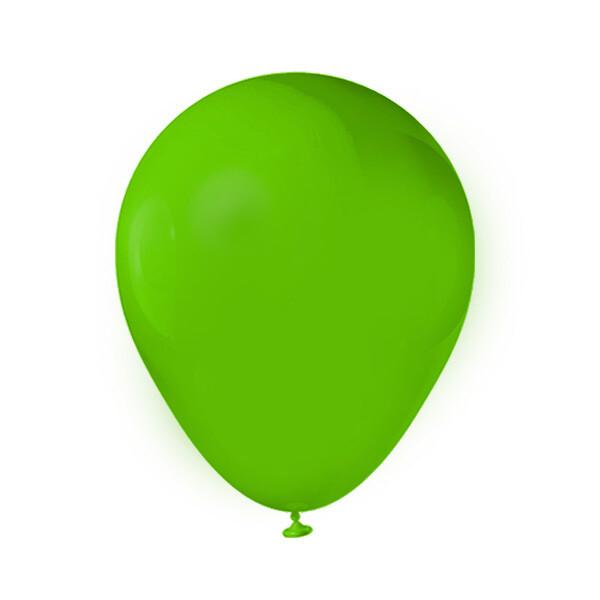 Globos Latex #12 Verde Lima 50/1