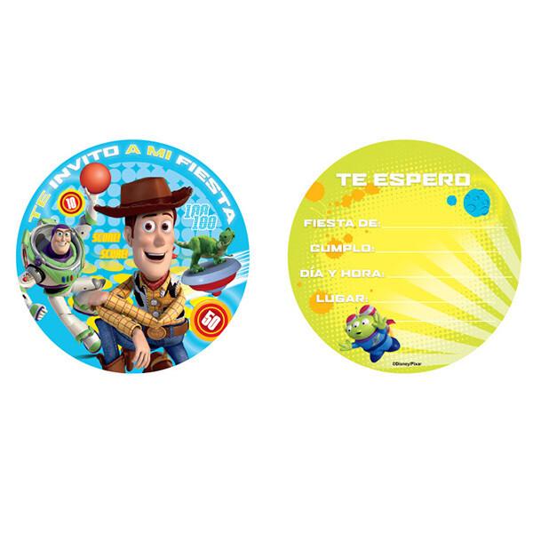 Invitaciones Toy Story 6/1