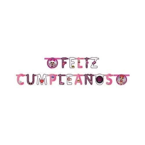 Letrero Feliz Cumpleaños Lol