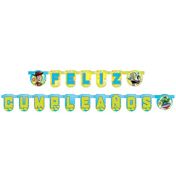 Letrero Feliz Cumpleaños Toy Story
