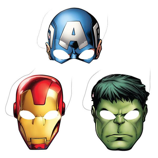 Mascaras Avengers 6/1