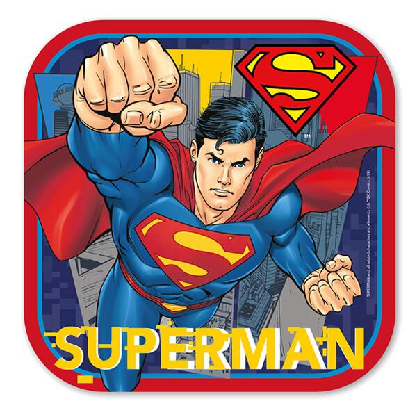 Plato Cuadrado #7 Superman 6/1