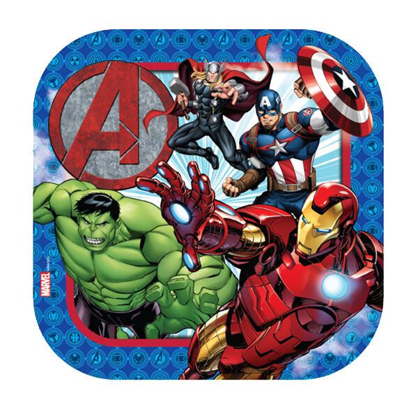 Plato Cuadrado #7 Avengers 6/1