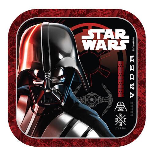 Platos Cuadrados #7 Star Wars 6/1