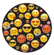 Platos Redondos #7 Emoji 10/1
