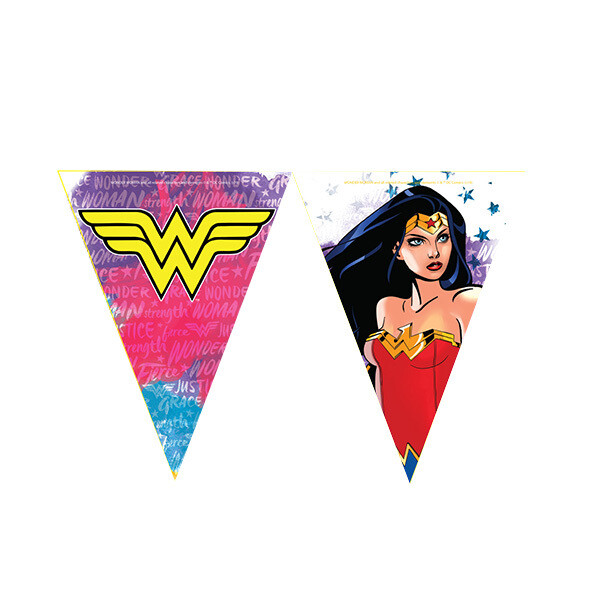 Banderines Mujer Maravilla 10/1
