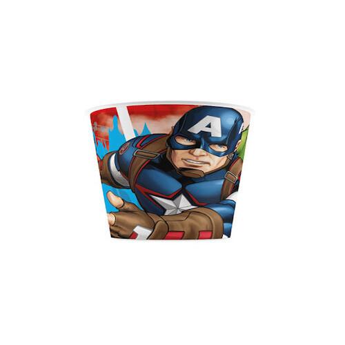 Vaso Plastico Avengers