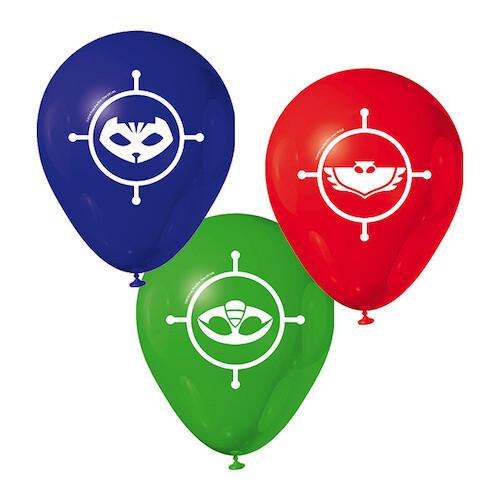 Set Globos PJ Masks 3/1