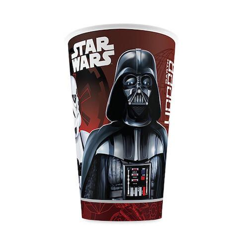 Vasos Carton Star Wars 6/1