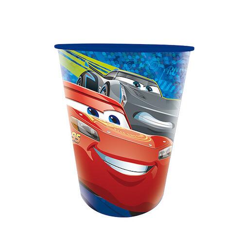 Vaso Plastico Cars 3