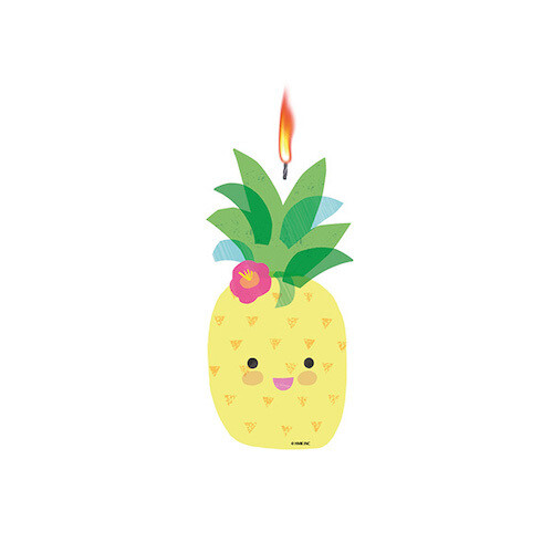 Vela Jumbo Frutas