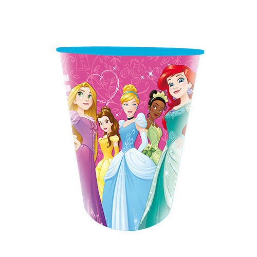 Vaso Plastico Princesas