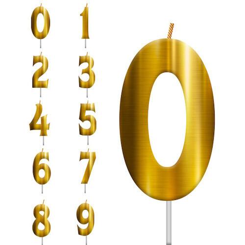 Vela Dorada Numero 0