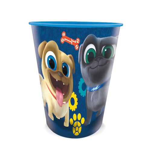 Vaso Plastico Puppy Dog