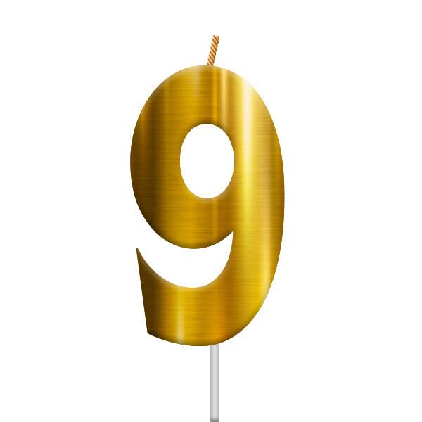 Vela Dorada Numero 9