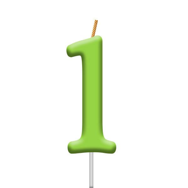 Vela Neon Numero 1