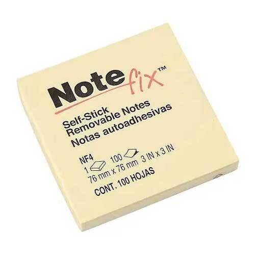 Nota Adhesiva Amarilla 3x3 3M