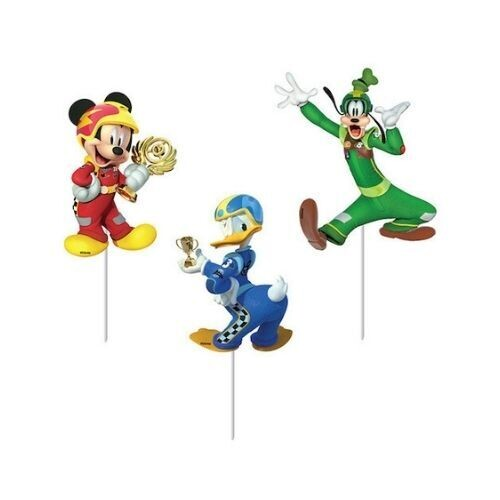 Topper Decorativo Mickey Aventura Sobre Ruedas 6/1