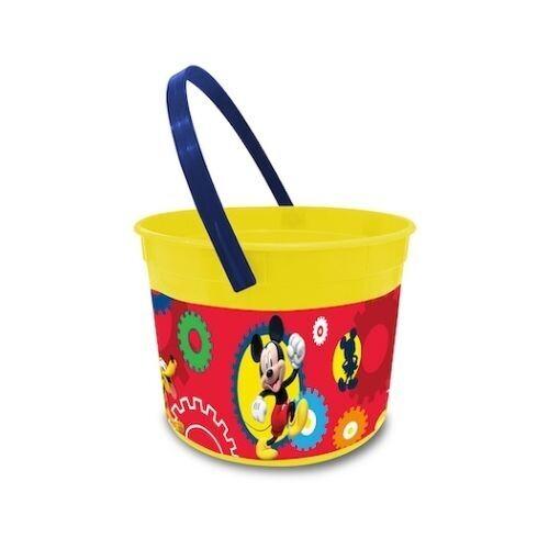 Cubo (Cubeta) Plastico Mickey