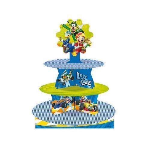 Cupcake Stand Mickey Aventura Sobre Ruedas