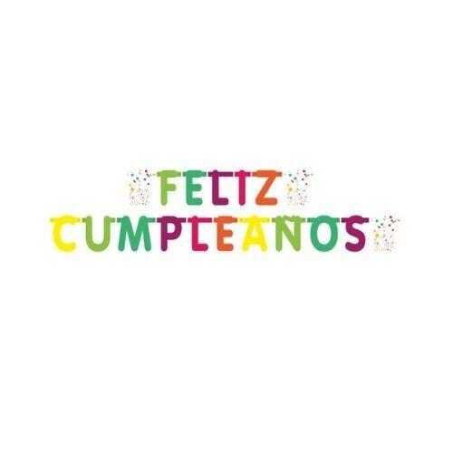 Letrero Feliz Cumpleaños Adt