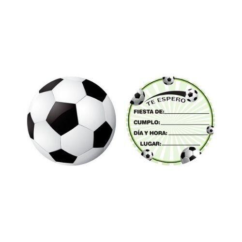 Invitaciones Futbol 10/1