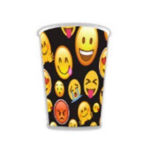 Vasos Carton Emoji 10/1