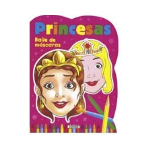 Princesas. Baile de Mascaras. Susaeta