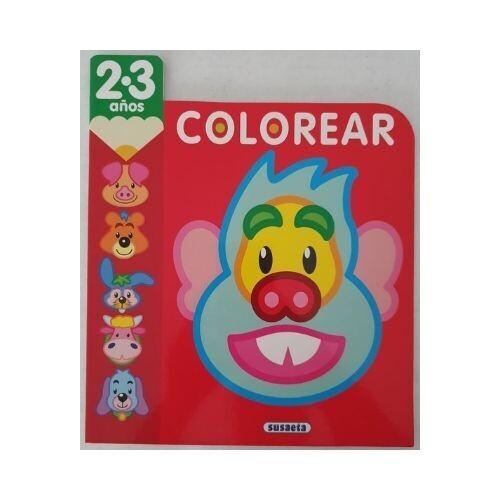 Colorear 2-3 años. Susaeta