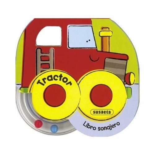 Tractor. Libro Sonajero. Susaeta