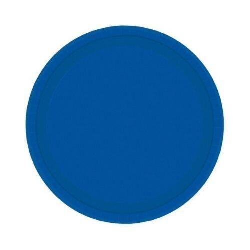 Plato Carton #7 Azul Marino 8/1