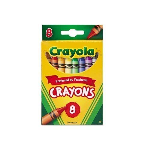 Crayones de Cera Regular Crayola 8/1