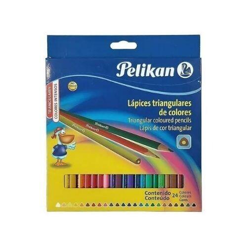 Lapices de Colores Triangulares 24/1 Pelikan