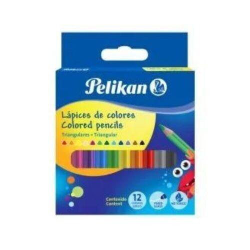 Lapices de Colores Triangulares 12/1 Pelikan