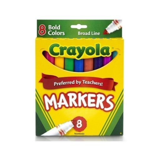 Marcador Grueso de Agua Crayola 8/1