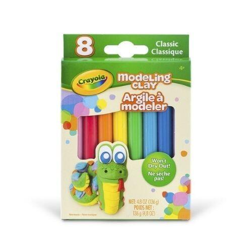 Masilla Moldeable 8 Colores Basicos Crayola