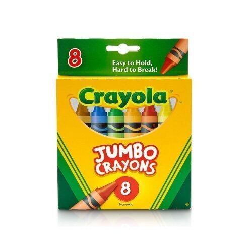 Crayones de Cera Jumbo Crayola 8/1