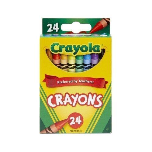 Crayones de Cera Crayola 24/1