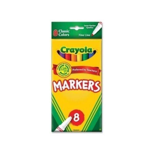 Marcadores Clasicos Finos Crayola 8/1