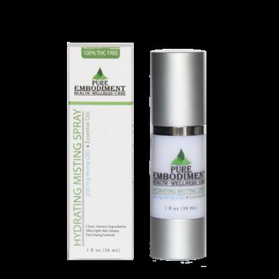 Pure Embodiment - 250mg CBD Hydrating Misting Spray