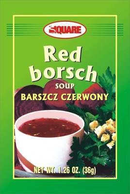 Red Borsch soup